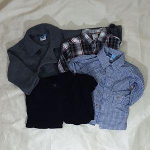 Great Guy coat shirt & pant set size 3t boy bundle